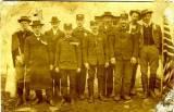Hasiči 1918 - svěcení zvonu