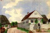 Kaplička sv. Jána kolem r. 1904
