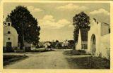 Křenovická náves kolem roku 1938